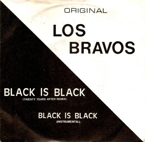 LOS BRAVOS Black Is Black Vinyl Record 7 Inch Carrere 1986
